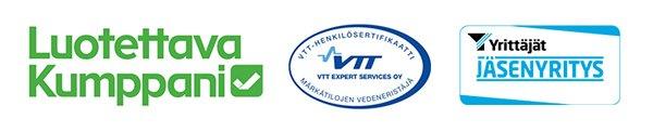 Exto yhteistyöjärjestö logot